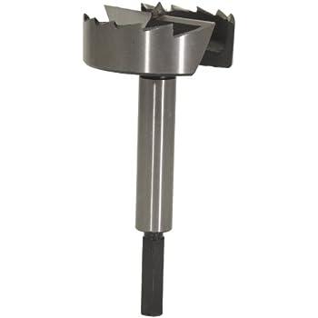 forstner bit for metal. mlcs 9261h 4-inch diameter steel forstner bit with hex shank for metal t