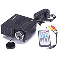 HD 1080P Projectors Emubody Home Cinema Theater LED HD Projector Support VGA HDMI USB SD