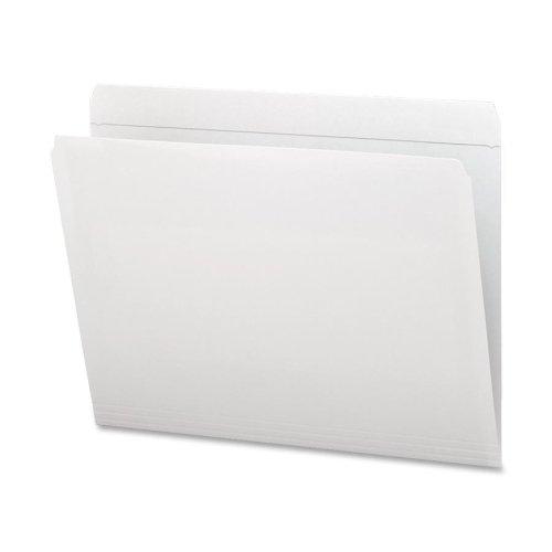2 Pli Tab (Wholesale CASE of 5 - Smead Assorted 2-Ply Tabs Straight Cut Folders-File Folder, Straight Tab Cut, Letter, 100/BX, White)