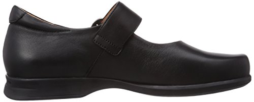 schwarz Women's Sort Ballerinas Kvinners Think Synes Ballerinas schwarz Pensa Stengt Pensa 00 00 Closed Black At E4x6wqT