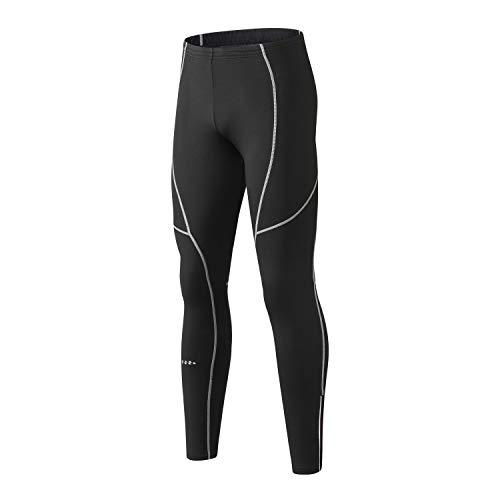 INBIKE Thermische hardloopbroek voor heren, winddicht, voor hardlopen, fietsen, joggen, outdoor-activiteiten