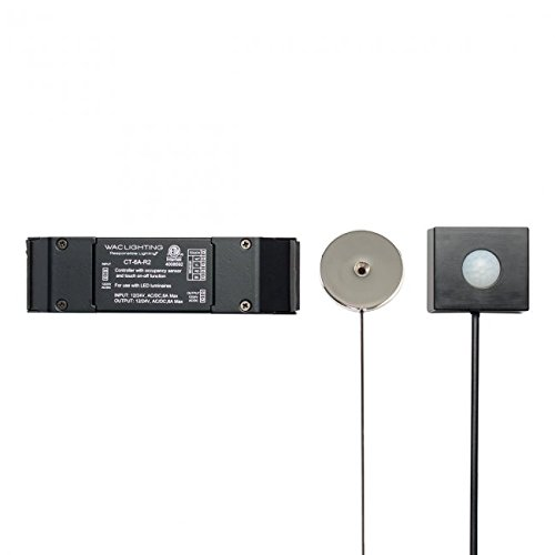 WAC Lighting CT-6A-R2 Contemporary Touch On/Off Control and Occupancy Sensor