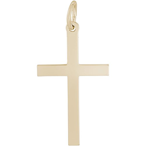 Rembrandt Charms Cross Charm, 14K Yellow (Rembrandt Cross)