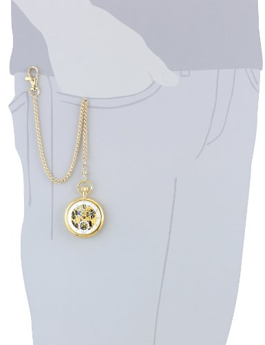 Charles-Hubert, Paris Gold-Plated Open Face Mechanical Pocket Watch by Charles-Hubert, Paris (Image #2)