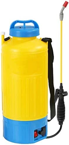 KJRJKD 8L / 6L電気噴霧器家庭用小型医学バケツガーデンポータブルホテルホーム公共エリア&ファーム消毒機 (Color : 8L)