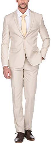 スーツ メンズ 大きいサイズ 上下セットスリム カジュアル 結婚式