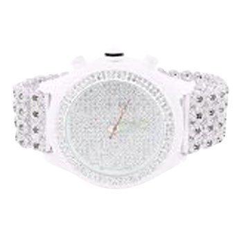 Custom Band Diamond Watch - 3