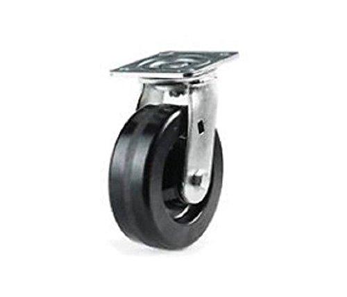 Colson (USA) Swivel Plate Caster 8'' x 2'' Phenolic Wheel (4'' x 4-1/2'' Plate)