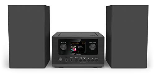 Karcher MC 6490DI compacte stereo-installatie (met CD-speler, stereo-installatie met internetradio en Bluetooth, FM- en…