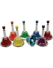 Percussion Workshop CB8 - Set de 8 campanas, multicolor