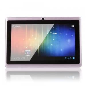 """7"""" Capacitive Touch Screen Android 4.0 4GB Tablet PC with Wifi Purple"""