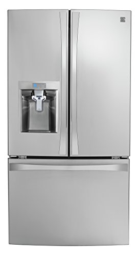 Kenmore Smart 75043 24 cu. ft. French Door Bottom-Mount Refrigerator in Stainless Steel - Works with Amazon Alexa, includes delivery and hookup (Available in select cities only) by Kenmore (Image #11)