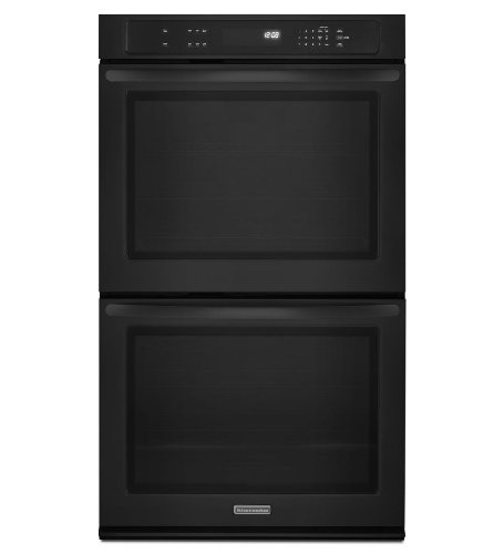 Kitchenaid KEBK276BBL: KitchenAid ® 27-Inch Double Wall Oven, Architect ® Series II - Black (Wall Oven Kitchenaid compare prices)
