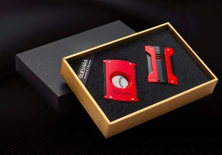 GUEVARA Cigar Cutter & Lighter 1-Set 6208A Torch Without Gas by Guevara (Image #5)