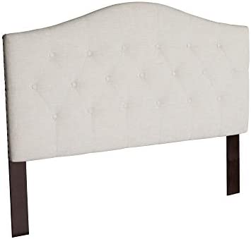 Atlantic Furniture Naples Headboard, Queen, Pebble Beach