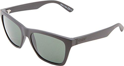 farer Sunglasses,Black & Smoke Satin,54.6 mm (Mens Von Zipper)