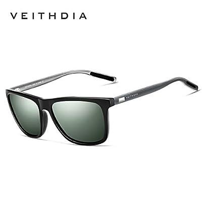 JEWH Fashion Guy's Sun Glasses Polarized Sunglasses Men Classic Design All-Fit Mirror Sunglass With Brand Box CE - Sunglasses Men Polarized (C19)