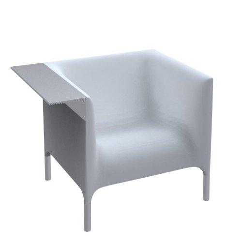 Driade Out/In Armlehnenstuhl, weiß lackiert