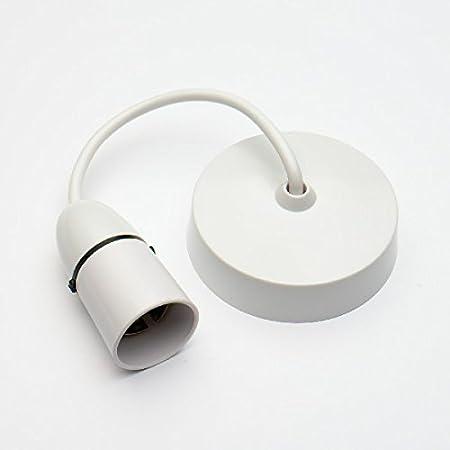 bulk hardware bh02617 ceiling rose flex with lamp holder 6 inch