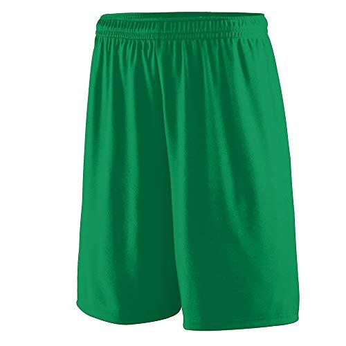 Augusta Sportswear Men's Training Short, Kelly, Large