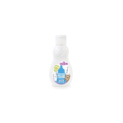 Dapple Baby Bottle and Dish Liquid, Lavender, Travel Size, 3 Fluid Ounce