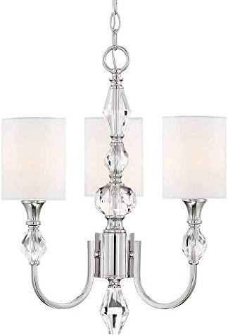 Designers Fountain 89983-CH Evi 3 Light Chandelier