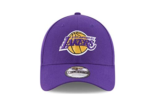 29ca215d Amazon.com : New Era Los Angeles Lakers Purple NBA The League Adjustable  Dad Hat : Clothing