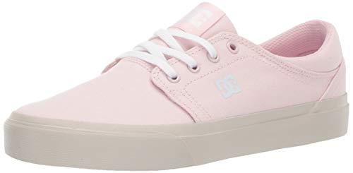 DC Women's Trase TX Skate Shoe Pink 8 M US