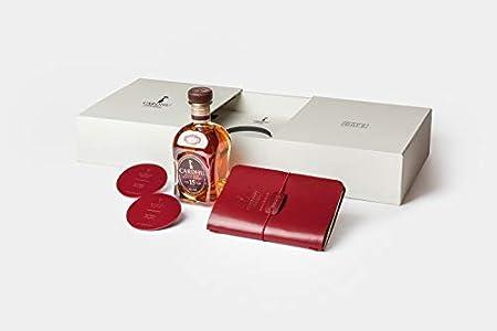 Cardhu 15 Años Whisky Puro De Malta Escocés - Pack De Regalo Con Libreta Y Posavasos De Piel Elaborados Por Café Leather - 700 ml