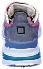 Date Sneakers für Damen, Fuchsia, NETKI, Weiß