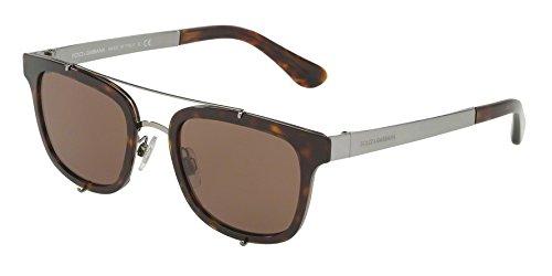 Dolce & Gabbana  Men's DG2175 Havana/Brown Sunglasses (Gabbana Retail Sunglasses Dolce)