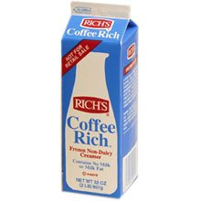 Coffee Rich Non-Dairy Creamer - 32 oz. carton, 12 cartons per case by Rich Products Corporation (Image #1)