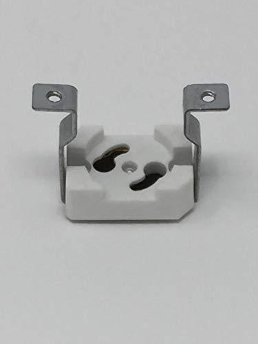 Base Holder Compact 2 Fluorescent (HH Fluorescents Parts Inc Starter Base Holder 1-125-2)