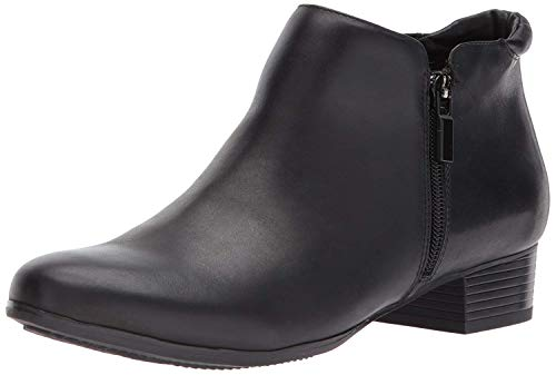 Trotters Women's Major Ankle Bootie, Black, 9.5 W US from Trotters