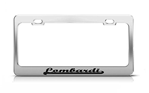 - Lombardi Last Name Ancestry Metal Chrome Tag Holder License Plate Cover Frame