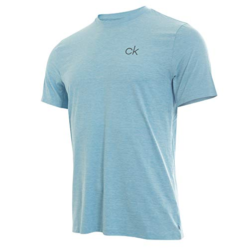 Calvin Klein Golf Men's Newport TEE, sky blue - Shirt Golf Ls