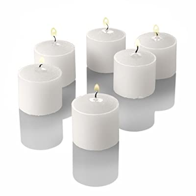 Set of 144 Richland Votive Candles and 144 Eastland Votive Holders