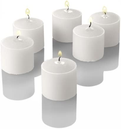 Richland Set of 144 Votive Candles and 144 Eastland Votive Holder