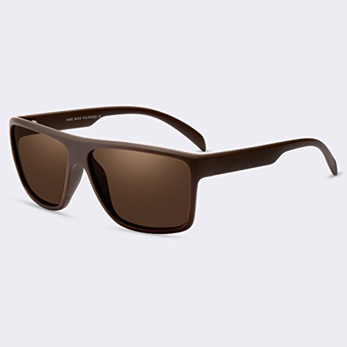 sol de TIANLIANG04 hombres de sombras de gafas de C02Brown de polarizadas gafas lujo de HD sol lentes para C01gris Guía recubrimiento wtddqrgUE