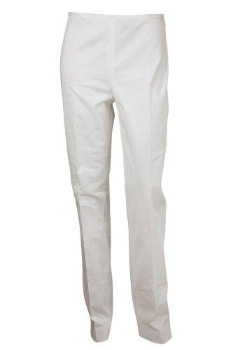 PHILOSOPHY di Alberta Ferretti Womens White Capri Pants 8