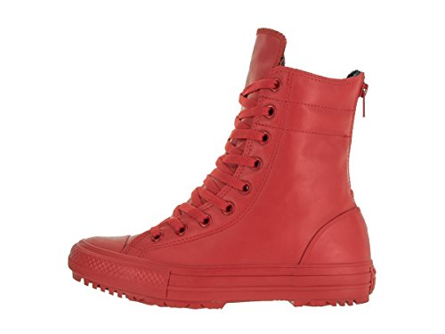 Converse - Chuck T AS Hirise Boot Rubber - Color: Rosso - Size: 37.5