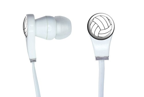 Graphics More Volleyball Novelty Headphones
