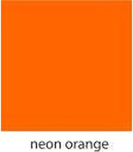 A de Flex Neon Naranja Flex pantalla 50 cm de ancho Lámina de transferencia: Amazon.es: Jardín