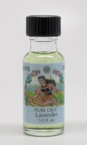 Lavender - Sun's Eye Pure Oils - 1/2 Ounce Bottle - incensecentral.us