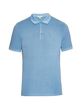 BURBERRY BRIT CASSIUS Metal Camisa Polo Logotipo 100% de algodón ...
