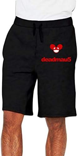 Deadmau5 デッドマウス ハーフパンツ メンズ ショートパンツ フィットネス トレーニングウェア 吸汗速乾