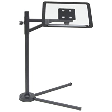 Calico Tech Stand - Black / Clear Glass