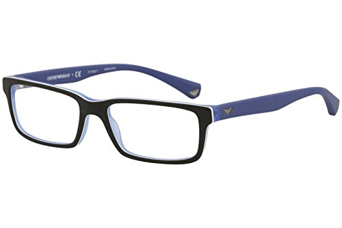 Emporio Armani 3061 5392: Black / Matte Blue