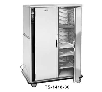 Delivery Meal Cart (FWE TS-1418-30 120 30-Tray Heated Meal Delivery Cart, 120v)