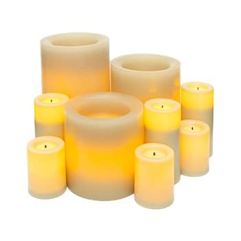 Amazon Com Candle Impressions 11 Piece Flameless Candle